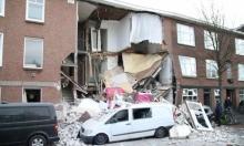 هولندا: انفجار يؤدي لانهيار مبنى في لاهاي