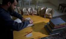 غزة: أحمد حميد يبدع بفن الأوريغامي