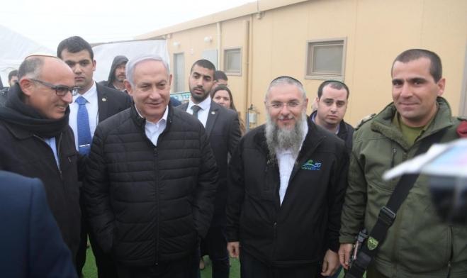 نتنياهو: لن يتم اقتلاع مستوطنات أو وقف الاستيطان