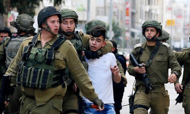 الاحتلال يعتقل 18 فلسطينيا في الضفة