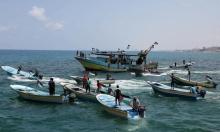 غزة: استشهاد مصاب وإصابة 18 في قمع الاحتلال للمسير البحري