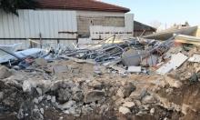 اللد: هدم منزل بعد إعادة تشييده