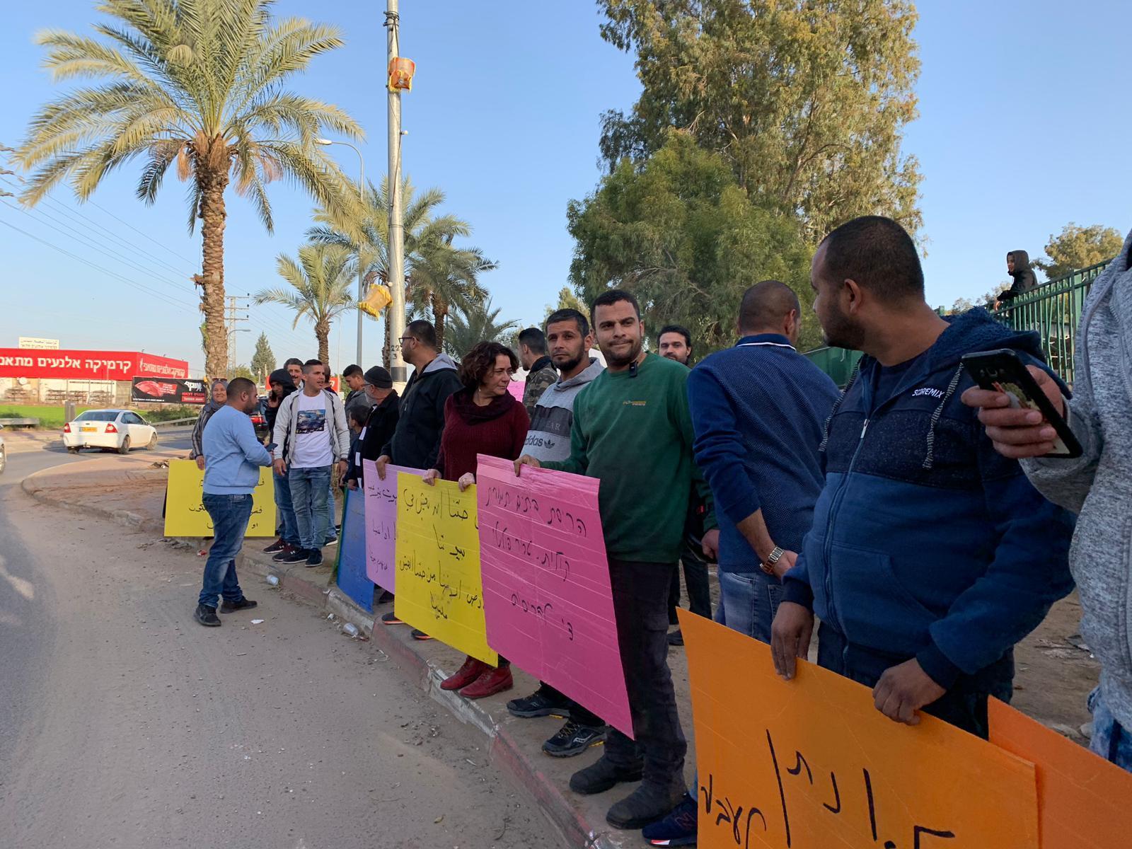 اعتقالات واعتداء على المتظاهرين في قلنسوة