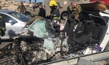 مصرع جندي احتياط إسرائيلي في تصادم مركبته بشاحنة فلسطينية