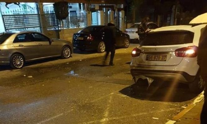 نحف: إحراق سيارتي مدير مدرسة وزوجته