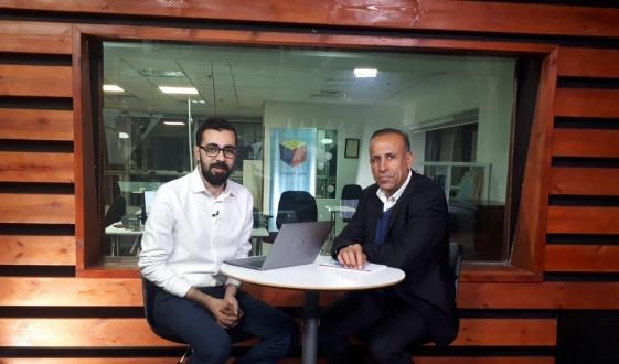 """""""حوار مباشر"""" مع سكرتير الجبهة منصور دهامشة"""