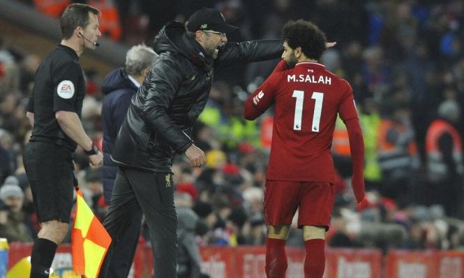 مدرب ليفربول يعترف بخطأ محمد صلاح!