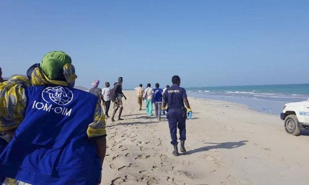 انتشال 28 جثة بعد غرق زورقين قبالة جيبوتي
