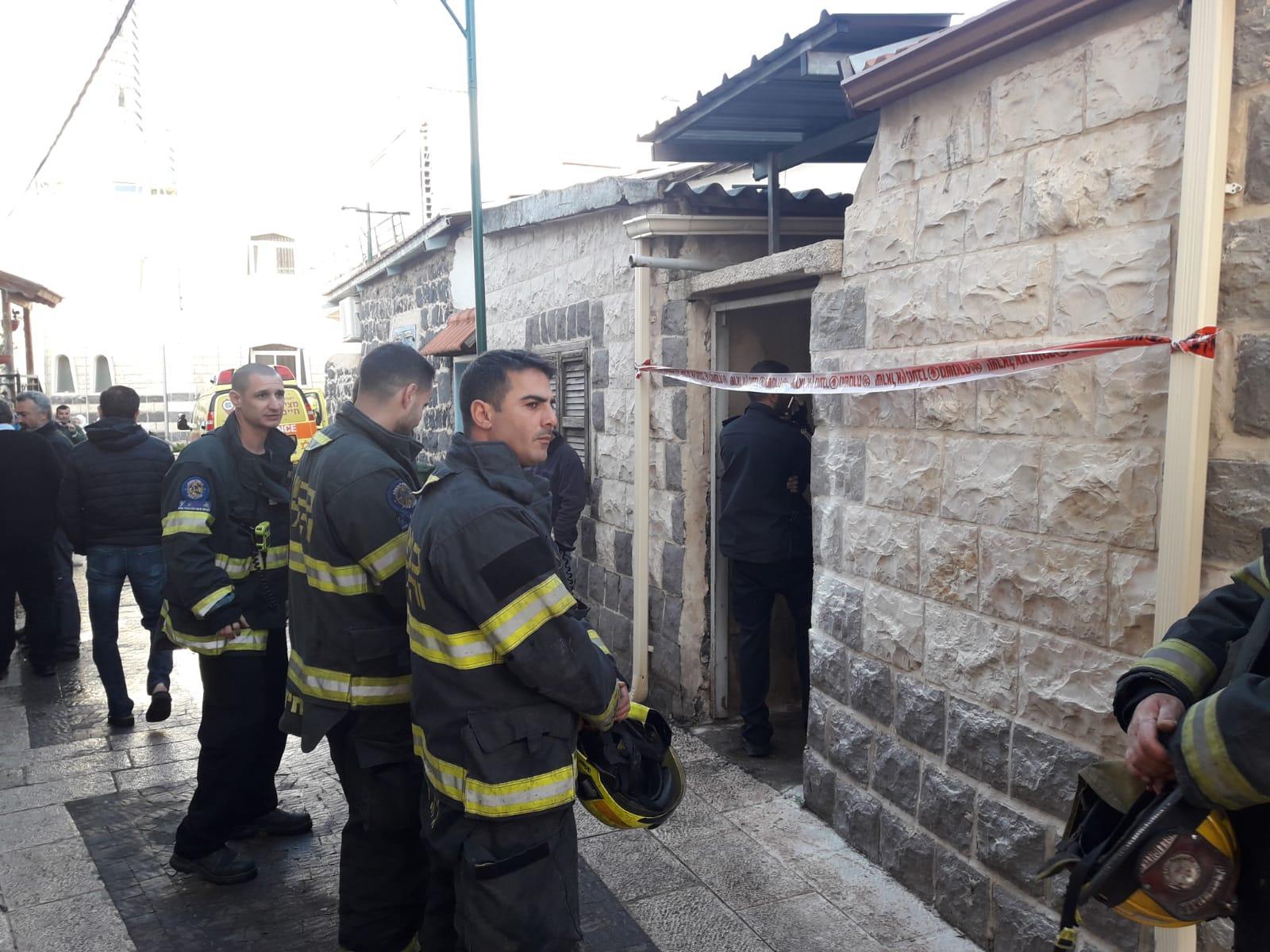 كفر كما: مصرع مسن إثر حريق في منزل