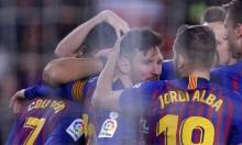 برشلونة ينتفض ويجرد إشبيلية من كأس الملك