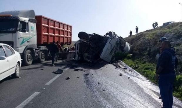 8 إصابات بينها 3 حرجة جراء حادث طرق قرب بيت لحم
