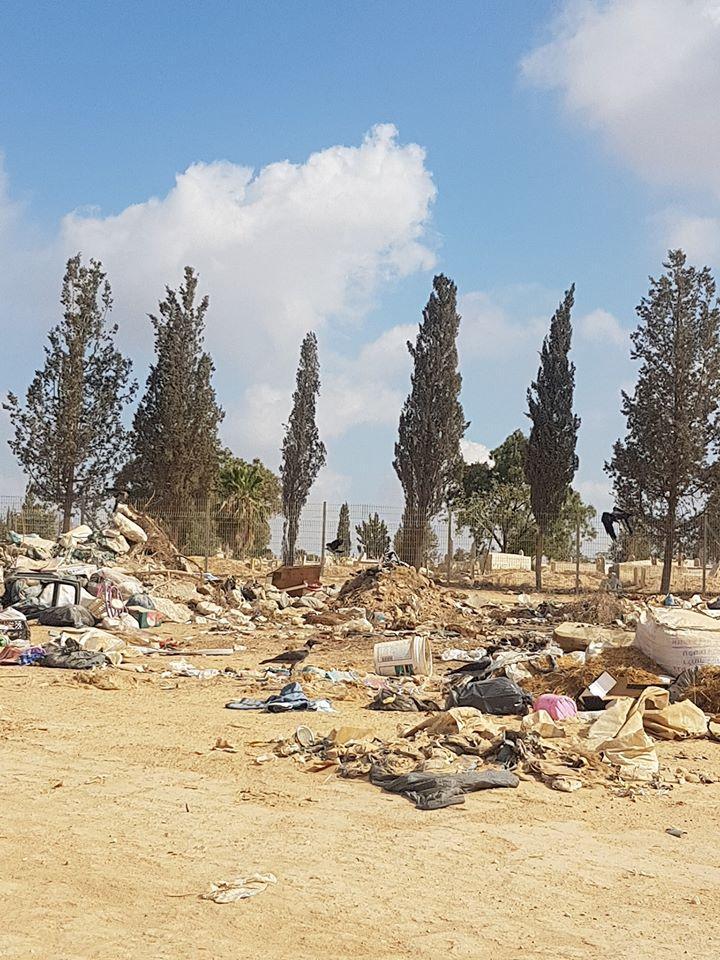 النفايات في قرى النقب: تلوث بيئي وتجاهل سلطوي