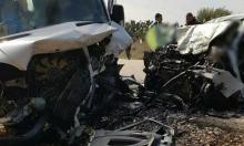 مصرع شخص وإصابة آخرين بحادث طرق قرب اللقية