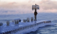 العاصفة القطبية تودي بحياة 21 أميركيا