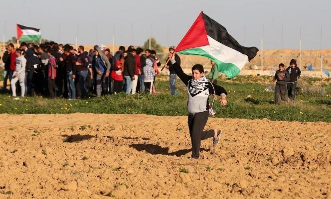 """جمعة """"أسرانا ليسوا وحدهم"""" بغزة: 33 إصابة بالرّصاص الحي  وعشرات بالاختناق"""