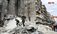 حلب: 11 قتيلا بانهيار مبنى تضرر بالحرب
