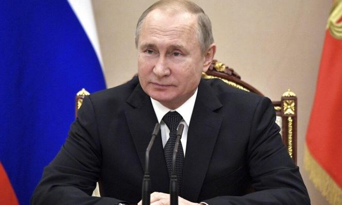 بوتين يعلن تعليق مشاركة موسكو بمعاهدة الصواريخ النووية