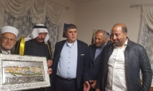 وفد مقدسي يشكر عائلة محاميد لتبرعها بأعضاء نجلها محمد