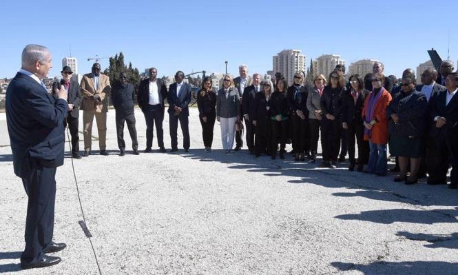 نتنياهو يحرض السفراء الأجانب على إيران وحزب الله
