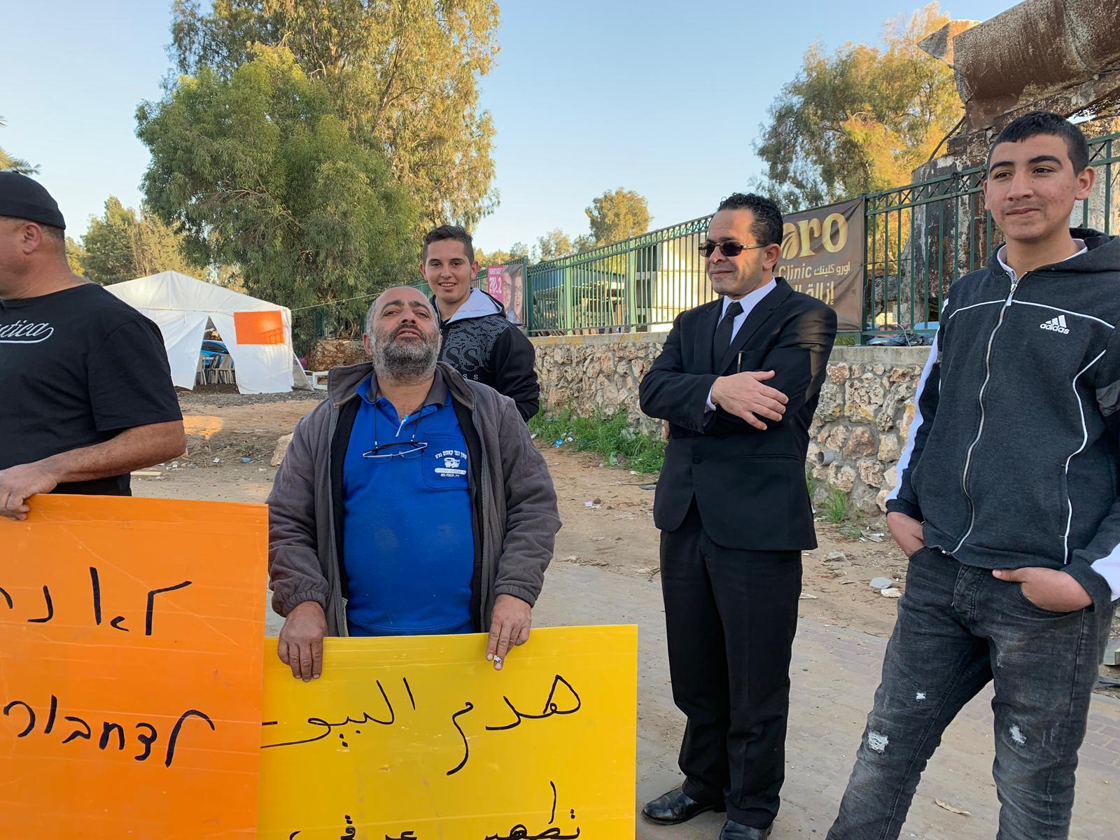قلنسوة: استمرار الاحتجاج ضد هدم المنازل