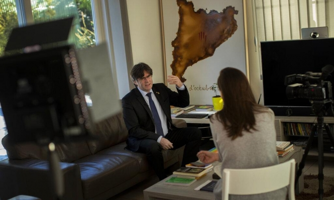 """كاتالونيا: بوغديمونت يعتبر محاكمة حلفائه """"ثأرية"""""""
