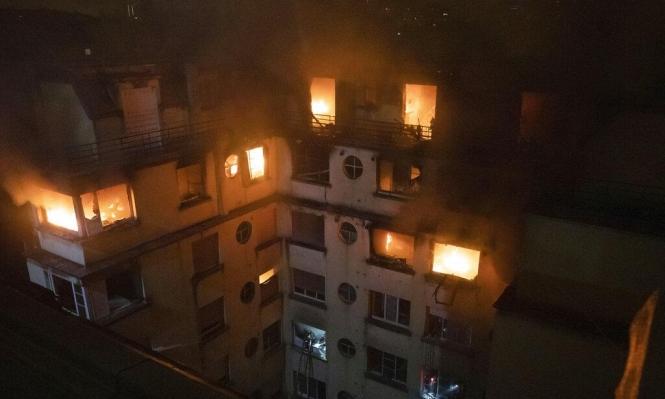 باريس: مصرع 7 وإصابة 28 شخصا في حريق