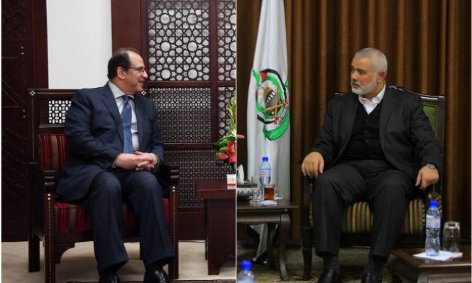 """عباس كامل يحث حماس على الالتزام بـ""""التهدئة"""" وضبط مسيرات العودة"""
