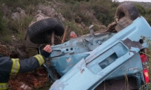 إصابة خطيرة لشابة في حادث طرق قرب يانوح- جث