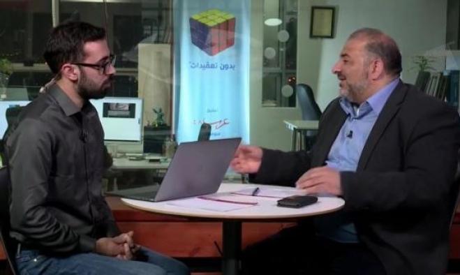 """""""حوار مباشر"""" مع د. منصور عباس ضمن سلسلة """"القائمة المشتركة إلى أين؟"""""""