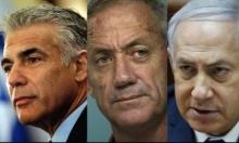استطلاع: تحالف غانتس لبيد يتجاوز الليكود والأحزاب الصغيرة في الخارج
