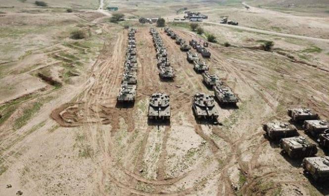 تدريب عسكري إسرائيلي يحاكي حربا في لبنان