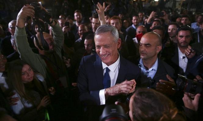 استطلاع: تحالف غانتس لبيد يحصل على 36 مقعدا