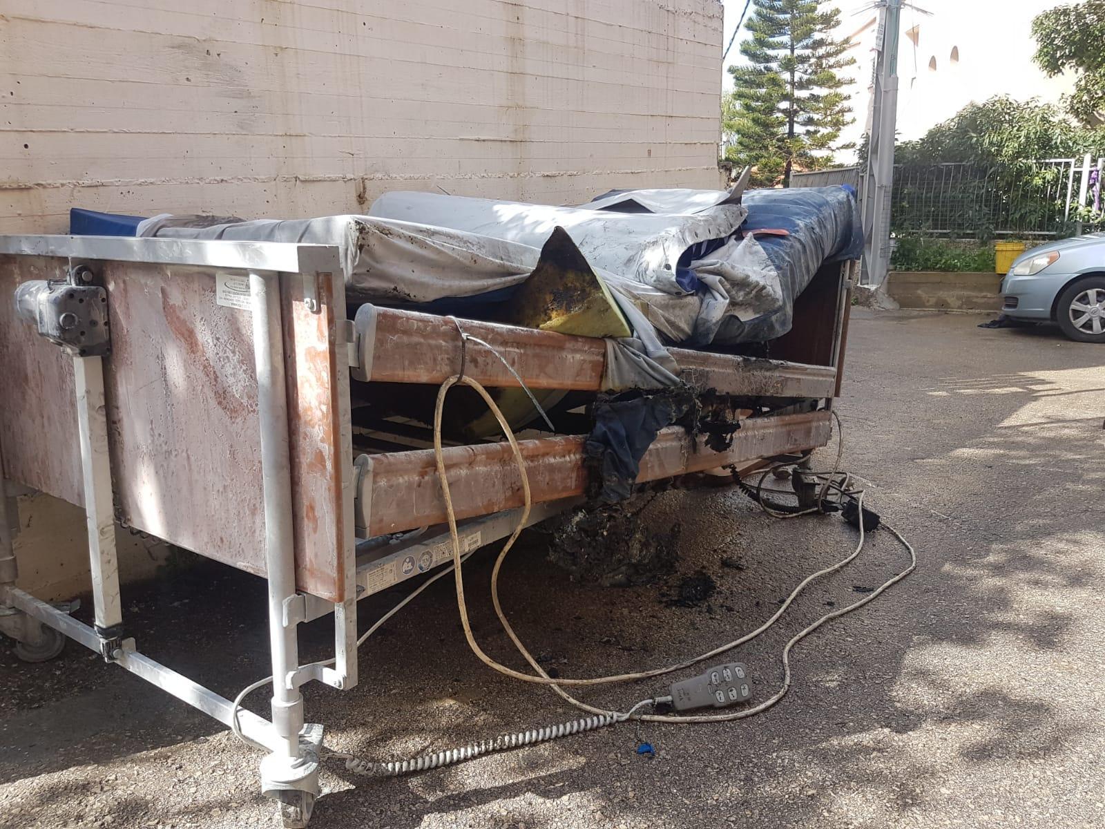 يافة الناصرة: إصابتان إحداهما خطيرة في حريق منزل