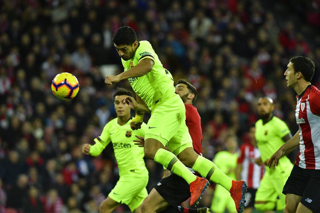 برشلونة يسقط بكمين التعادل أمام بيلباو