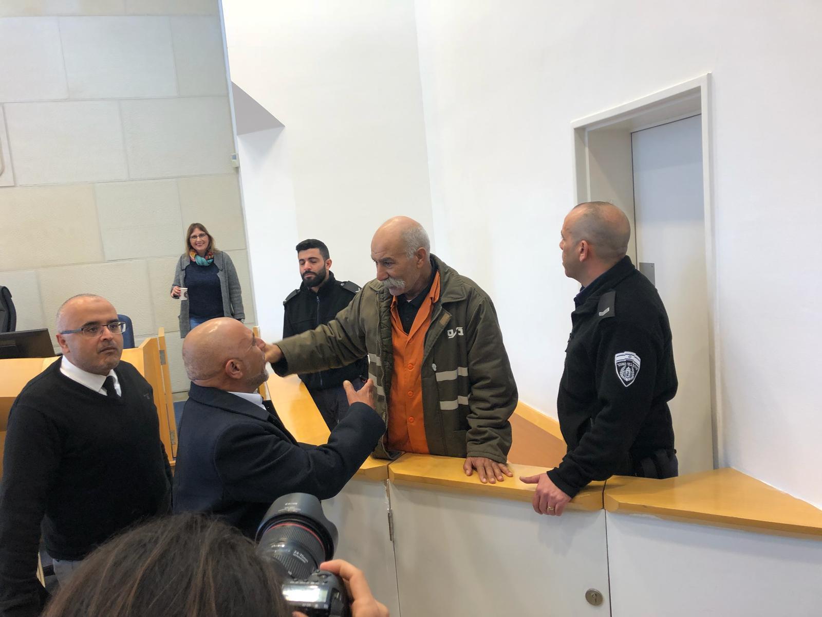 محاكمة الشيخ صياح الطوري بتهمة إهانة القضاء