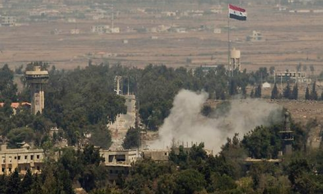 سورية: قصف إسرائيلي لمواقع في القنيطرة