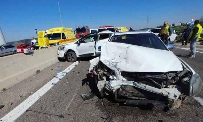 3 إصابات بينها حرجة في حادث طرق قرب الزرازير