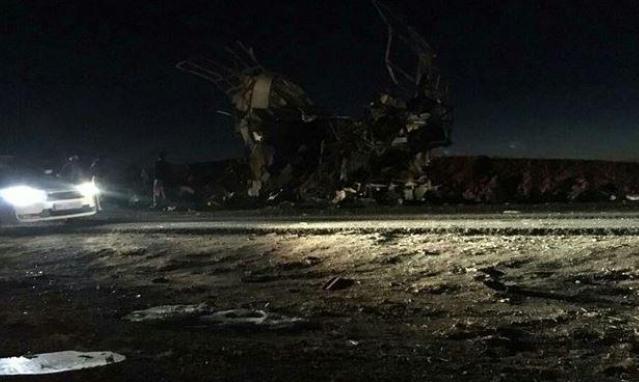 41 قتيلا من الحرس الثوري الإيراني في هجوم انتحاري