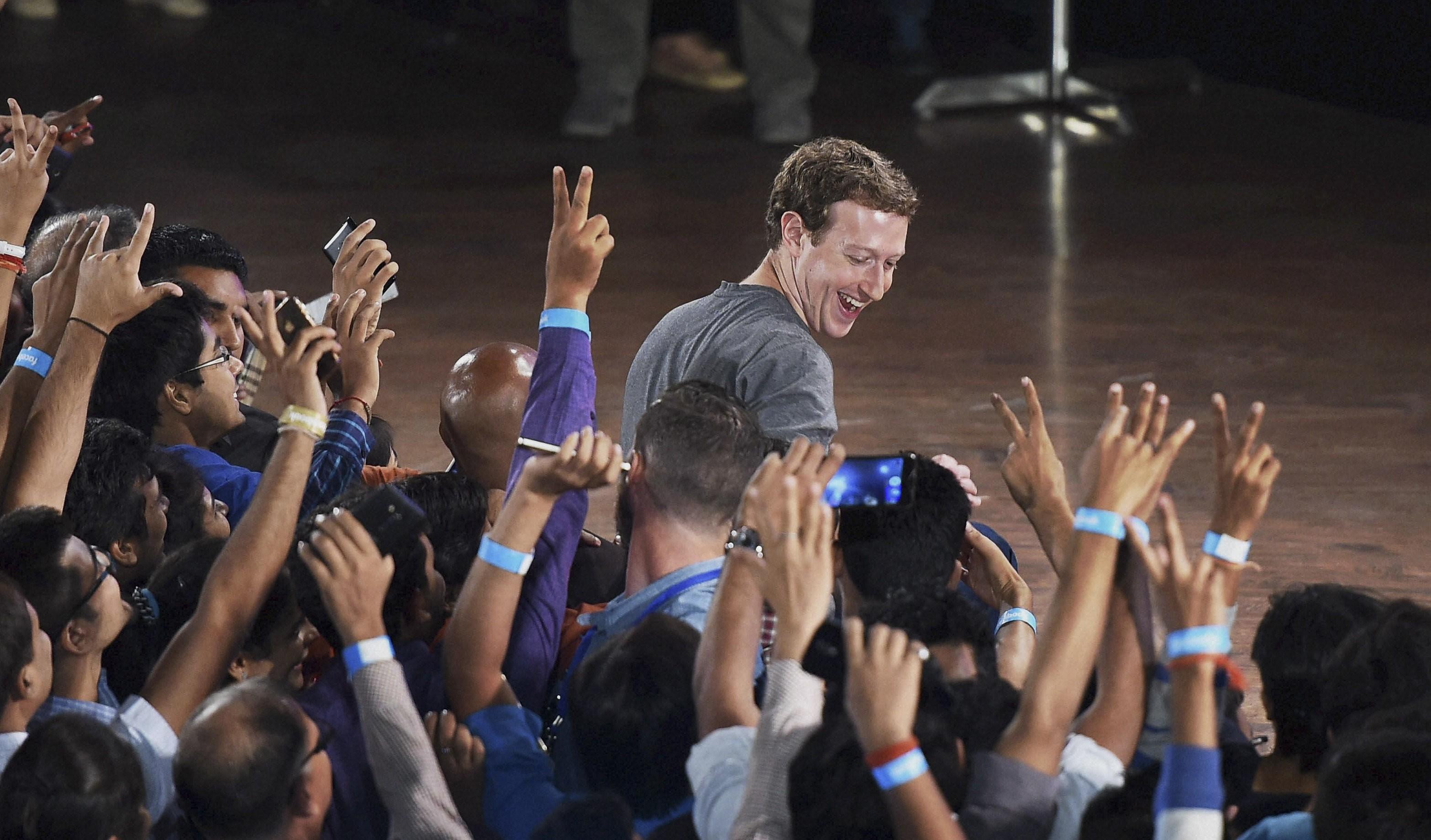 مؤسس فيسبوك، مارك زوكربرغ (أ ب)