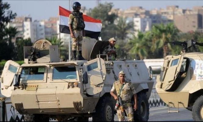 مصر: مقتل 18 مسلحا وعسكريا شمالي سيناء