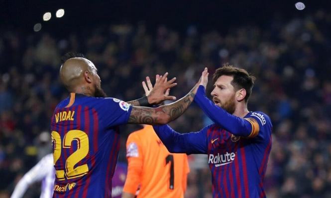 برشلونة يعود للفوز على حساب بلد الوليد