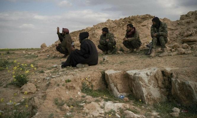 سورية: وجود مدنيين يعيق السيطرة على آخر جيب لداعش