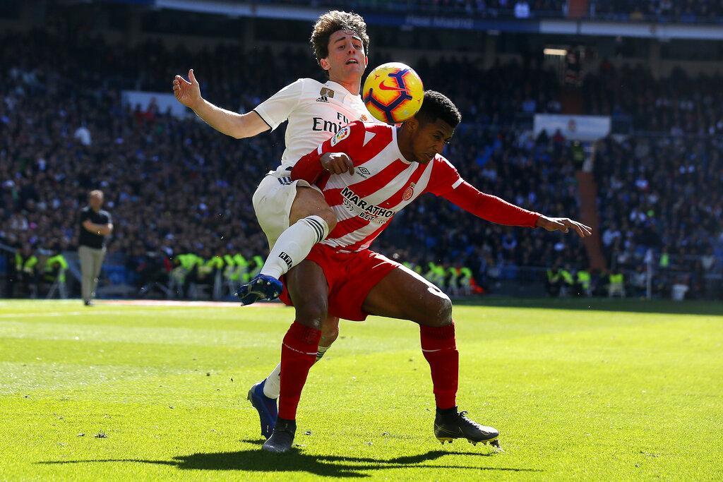 جيرونا يقلب الطاولة على ريال مدريد بعقر داره