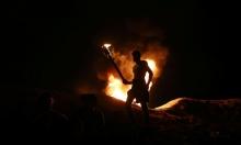 """""""الإرباك الليلي"""" بغزة: إصابة 12 فلسطينيًا وجندي إسرائيلي"""