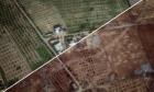 الأقمار الصناعية تٌظهر الدمار الذي حل في شمالي سيناء بفعل