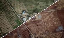 """الأقمار الصناعية تٌظهر الدمار الذي حل في شمالي سيناء بفعل """"الاقتتال"""""""