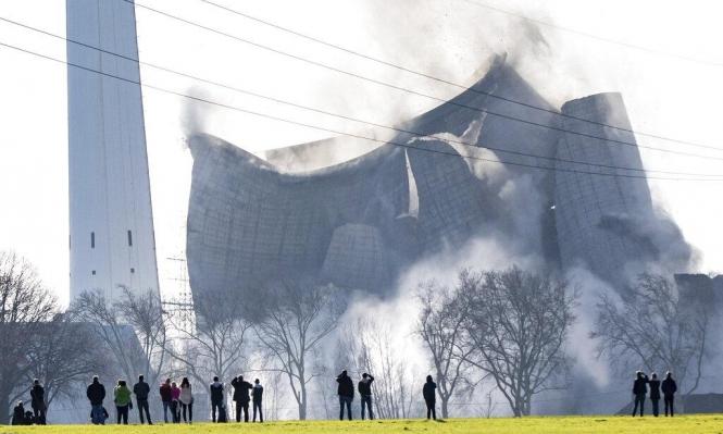 تفجيرُ محطة كهرباء ألمانيّة تعمل بالفحم بـ200 كيلو متفجرات