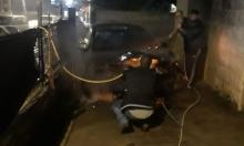 جلجولية: إحراق سيارة مُعلم