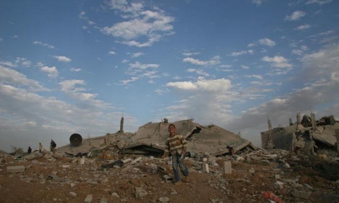 الاحتلال يقصف موقعًا جنوبي قطاع غزة