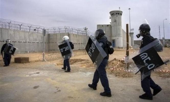 توتر في سجن النقب والأسرى يتجهون للتصعيد